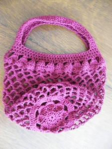 Mum Market Bag  great free crochet pattern for Mothers Day Mother's Day Quick Free Crochet Gift Ideas Patterns