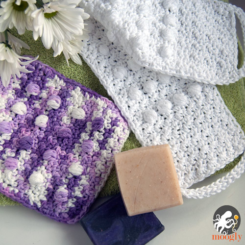 Pampering Massage Back Scrubber and Washcloth