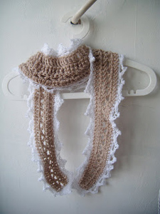 Romantic Summer Scarf - Spring and Summer Scarves to Crochet!