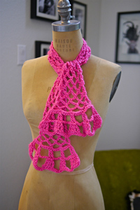 Springtime Scarf - Spring and Summer Scarves to Crochet!