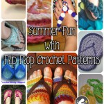 Flip Flops Crochet Patterns to Celebrate Summer!