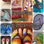 Flip Flops Crochet Patterns to Celebrate Summer!