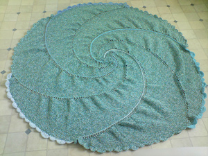 Swirl Blanket - Interesting and Unusual Crochet Afghans!