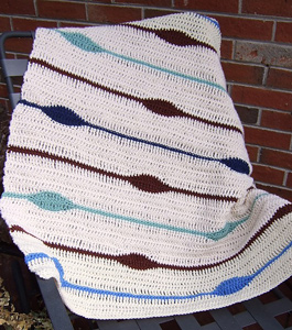 The Blanket Has Eyes - Interesting and Unusual Crochet Afghan Patterns!