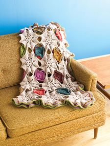 Urchins and Limpets - Interesting and Unusual Crochet Afghans!