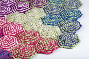 Pinwheel Blanket - Interesting and Unusual Crochet Afghan Patterns!