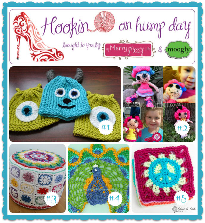 Hookin On Hump Day #47 - Link Party for the Fiber Arts! Come see this week's best and brightest!