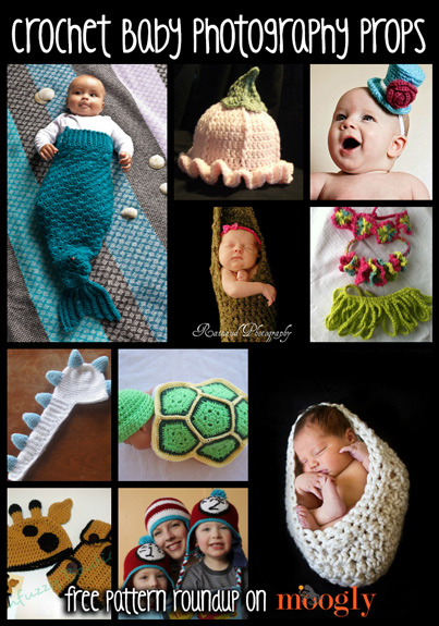 Crochet Photo Prop Patterns For Beautiful Baby Photography Moogly
