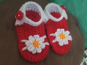 Crochet Baby Sandals - free pattern!
