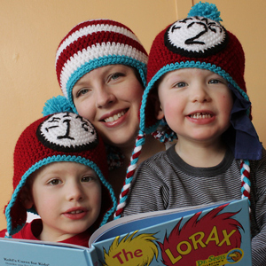 Dr Suess Inspired Hats - Crochet Photo Props