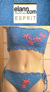 Crochet Bikinis are hot hot hot! Here are 10 free crochet bikini patterns for summer!