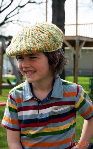 Big Boys Cabled Golf Cap - moogly