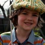 Big Boy's Cabled Golf Cap