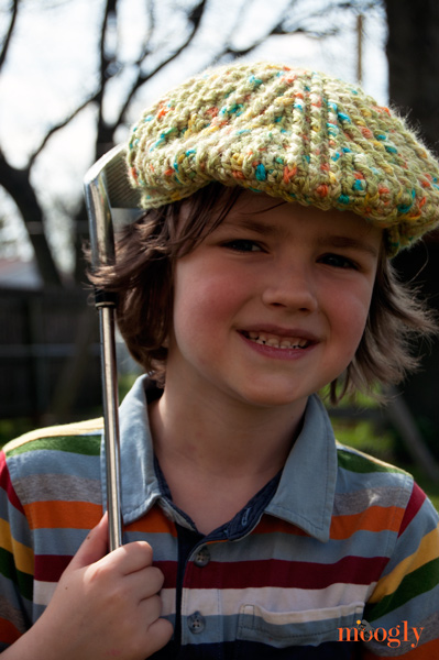Big Boy's Cabled Golf Cap