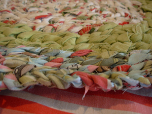 Rag Rug Tutorial - free crochet rug patterns