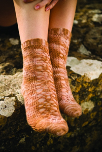 Sweet Feet - Free crochet sock pattern