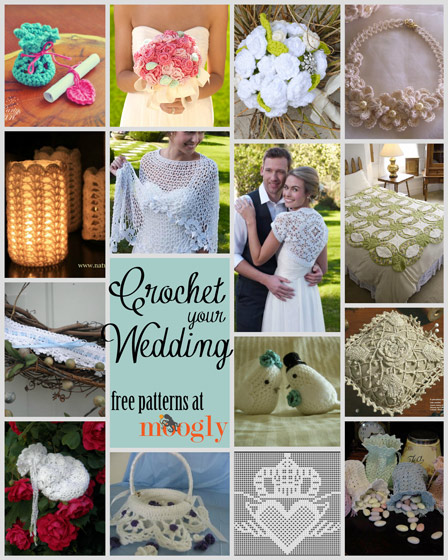 Free Crochet Wedding Patterns - gifts, accessories, flowers, favors, and more!