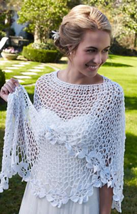 Bridal Shawl - free crochet wedding pattern
