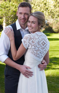 Bridal Shrug - free wedding crochet pattern