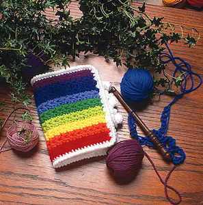 Colorul Carryall - Crochet Hook Case, free pattern!