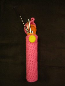 M&M Crochet Hook Case - free pattern!