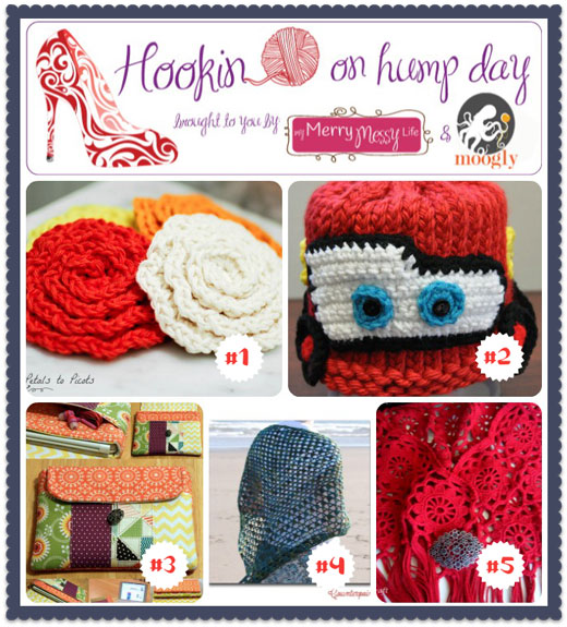 Hookin On Hump Day #44 - Featured projects for the week! Check out these amazing fiber artists and their creations!