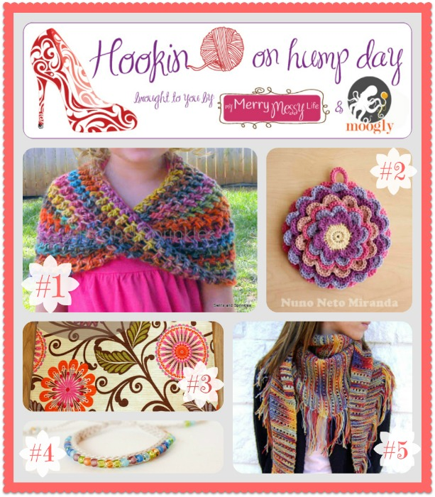 Hookin On Hump Day #45 - The Fiber Arts Link Party that's twice as nice!