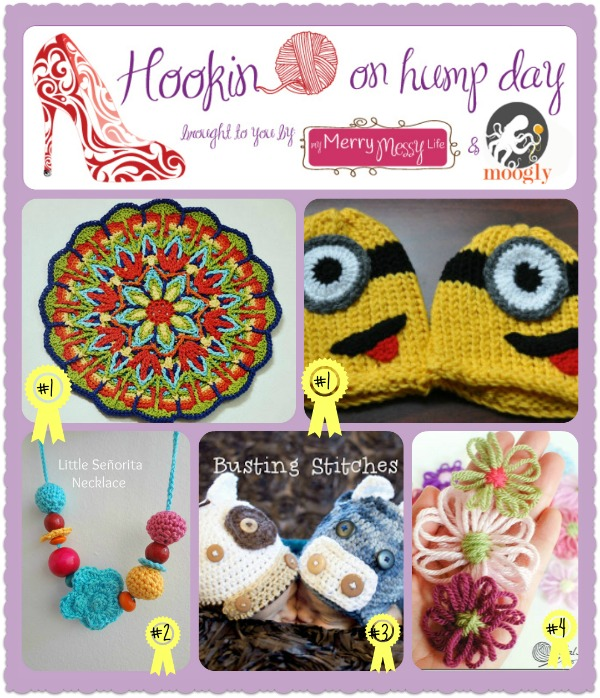 Hookin On Hump Day #46 - Link Party for the Fiber Arts! fantastic patterns, tutorials, and more!