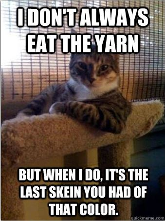Oh dear, now I have to go yarn shopping...