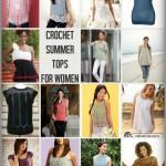 Crochet Summer Tops for Women: 15 Free Patterns!