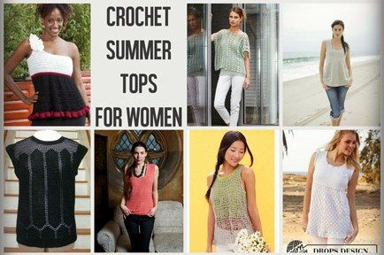 7d462c626d1ed Crochet Summer Tops for Women of All Sizes  15 Free Patterns - moogly