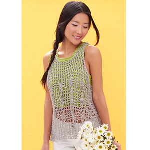 LIght Layers Tank  - Crochet Summer Tops for Women