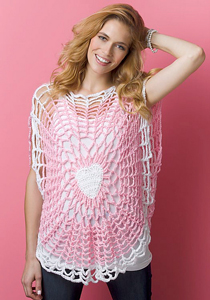 Lighthearted Tunic - Crochet Summer Tops for Women