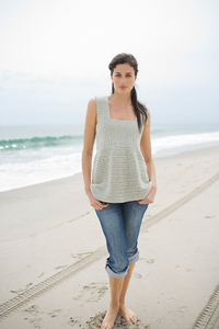 Sea Breeze Top  - Crochet Summer Tops for Women