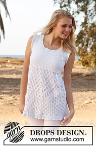 Yasmin  - Crochet Summer Tops for Women