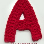 How to Crochet the Letter A