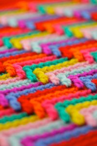 Apache Tears - unusual crochet stitch pattern