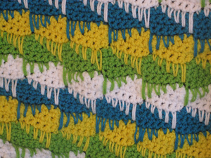 Blended Arrows Stitch - unusual crochet stitch patterns