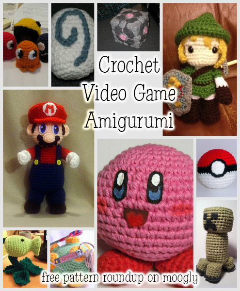 Crocheting Games : Crochet Video Game Amigurumi - free patterns from 10 favorite games ...