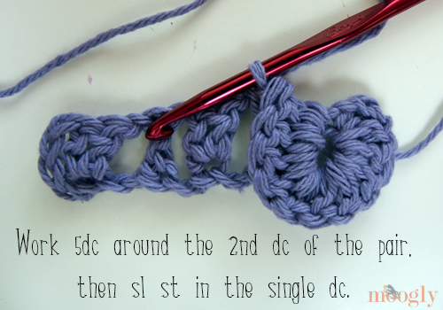 Learn how to crochet the Crocodile Stitch! Video and photo tutorial on Moogly.