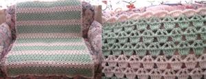 Cupcake Afghan - Free Cupcake Crochet Pattern!