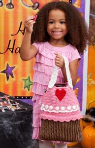 Cupcake Bag - Free Cupcake Crochet Pattern!