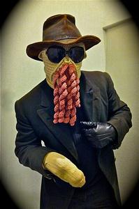 Ood Ski Mask - Doctor Who Crochet Pattern!