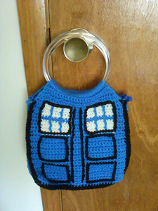 TARDIS Bag - Doctor Who Crochet Pattern!