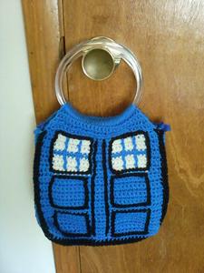 TARDIS Bag - Doctor Who Crochet Pattern!