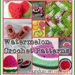 Wild About Watermelons: 10 Free Watermelon Crochet Patterns!