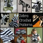 Add Some Zing with Free Zebra Crochet Patterns!