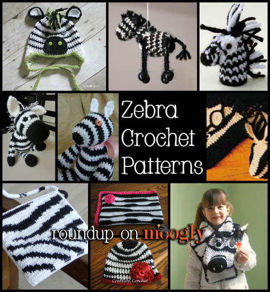 Free Crochet Zebra Patterns : Zebra Blanket Free Crochet Pattern Party Invitations Ideas