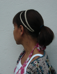 Grecian Hair-band - crochet hair accessories, free pattern!