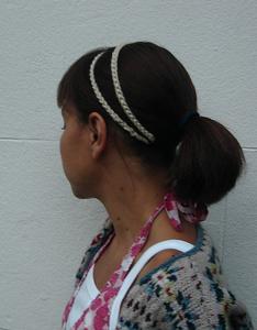 Grecian Hair-band - crochet hair accessories, free pattern!